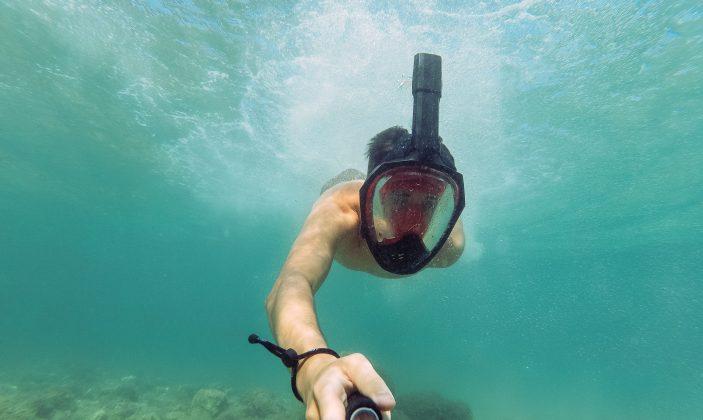 sentier sous marin
