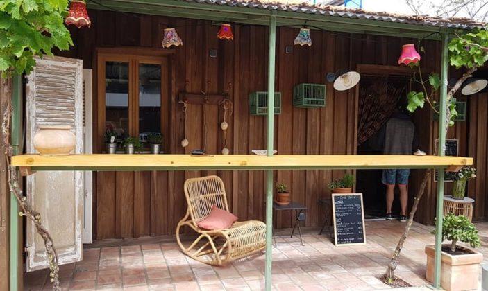 Restaurant café bohème Hyères La Capte