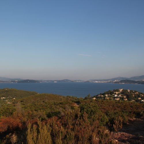 Vue sur le Cap Sicié et Saint Mandrier