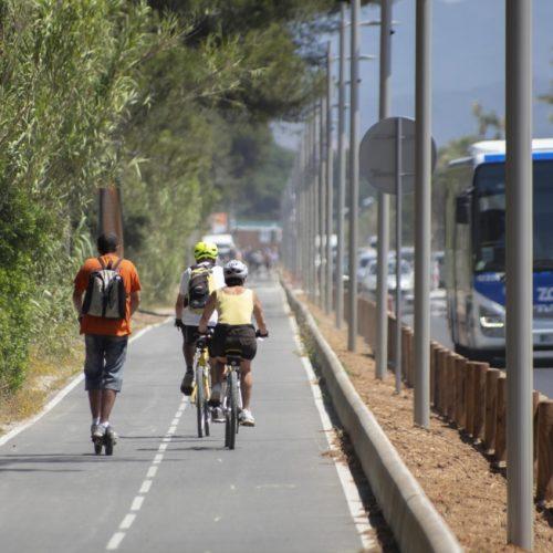 piste vélo aéroport Hyères