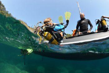 Plongée à Port-Cros à la pointe de Montrémian