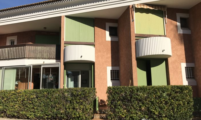 Appartement T2 -Azur et palmiers