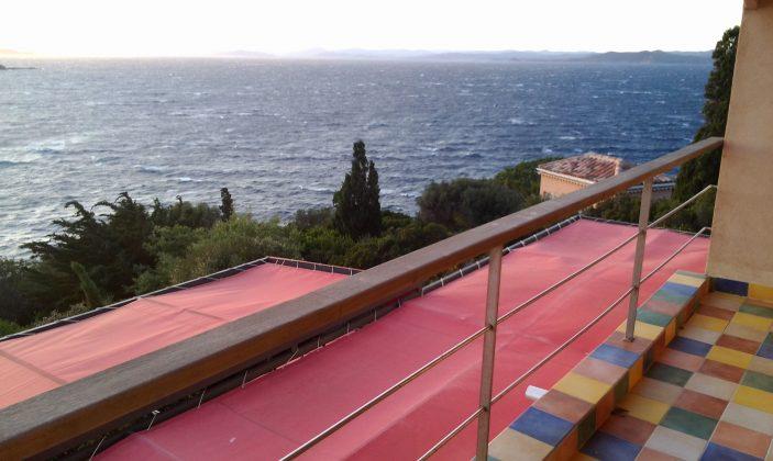 Villa Mirabel chambre d'hôtes île détente vue mer piscine naturisme