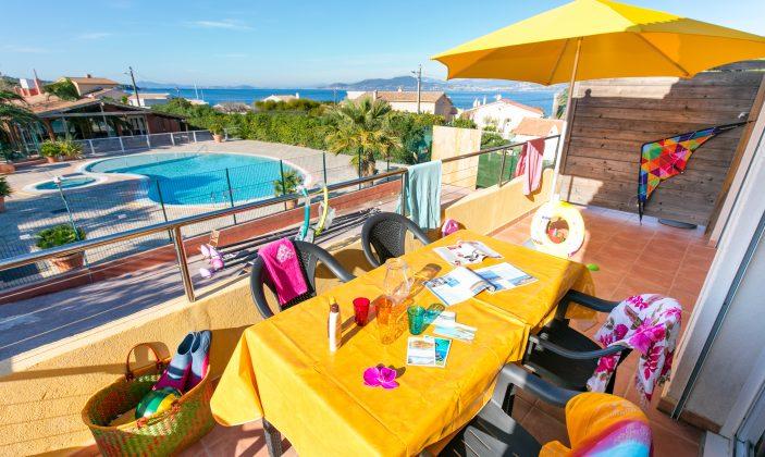 Appartement vue mer et piscine