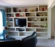 Salon avec télé à écran plat / Living room with flat screen TV