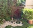 Coin jardin privé / Private garden