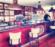 Brasserie Bar L'Escale Ile de Porquerolles Vue mer Parc National