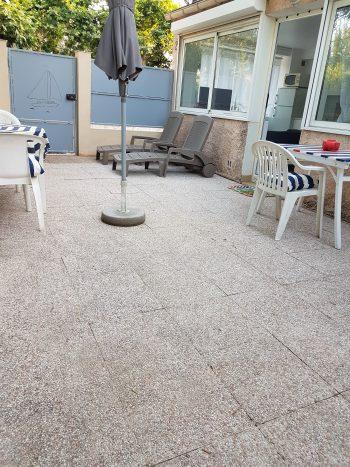 Terrasse rez-de-jardin T2- La Bastide de Charlotte – H191