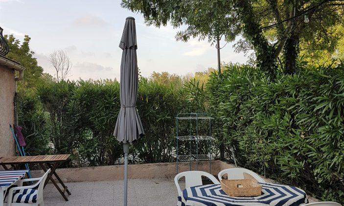 Terrasse rez-de-jardin T2- La Bastide de Charlotte- H191
