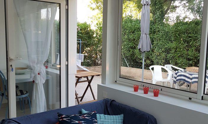 Salon rez-de-jardin T2 – La Bastide de Charlotte – H191