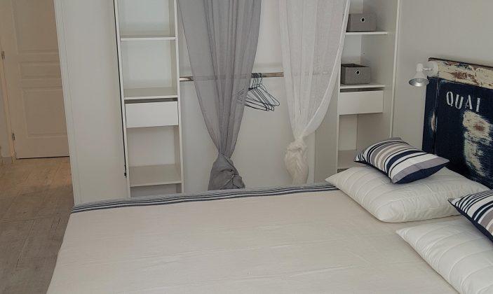 Chambre lit 160 Rez-de-jardin T4 – La Bastide de Charlotte – H192