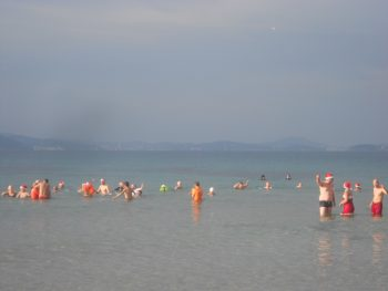 Bain de fin d'année
