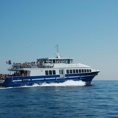 Traversées bateaux Porquerolles Port Cros Le Levant