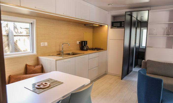 Intérieur Mobil-Home Luxe Jaccuzzi