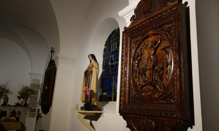 Eglise Ste Anne Chemin de Croix Porquerolles Parc National