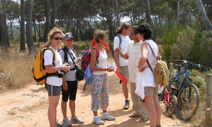 Balade à Porquerolles pour découvrir son histoire et les collections variétales