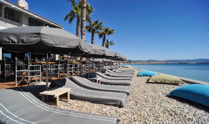 restaurant hotel bor hyeres plage mer transat langouste