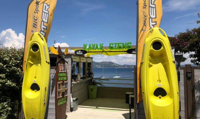 Kayak Paddle presqu'île de Giens