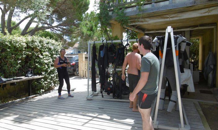 Gîte de plongée du Gapeau à Hyères