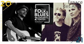 Spectacle  Soirée Folk & Blues : 2 concerts, 2 tempos – At dawn we are Kings / Julianne Joe en duo