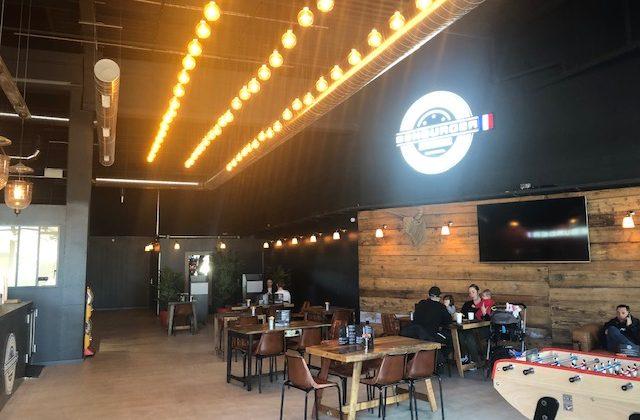 Ben burger restaurant Hyères centre commercial