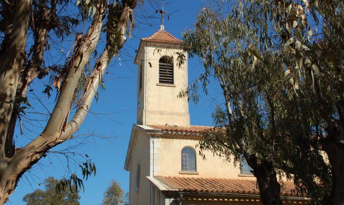 Eglise Sainte Anne à Porquerolles