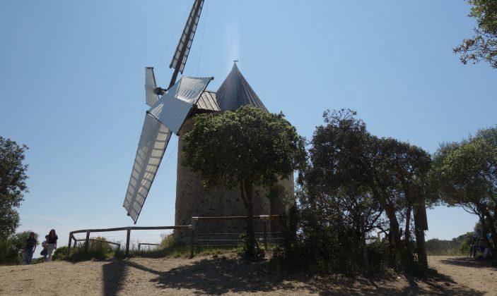 Le Moulin du bonheur à Porquerolles