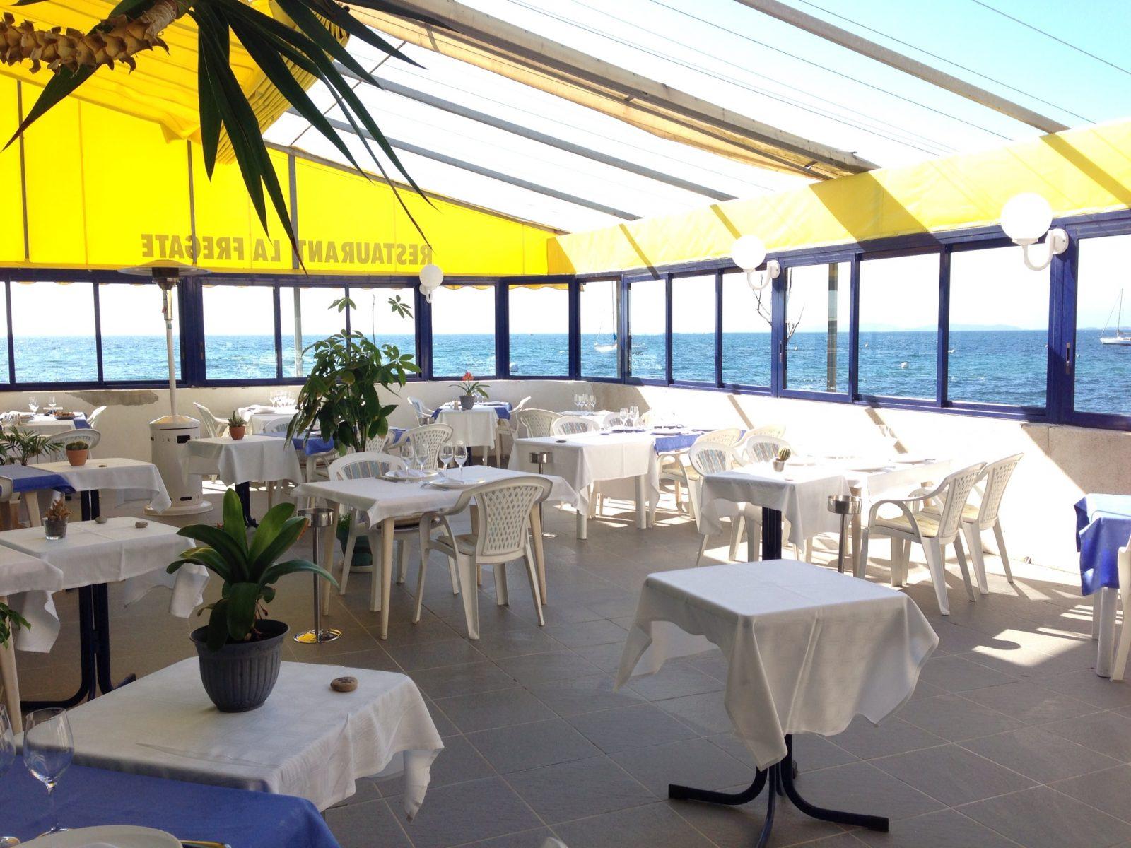 restaurant poisson La Fregate Les Salins Hyeres