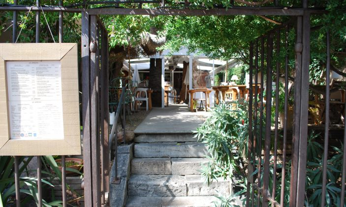 restaurant Le Jardin centre-ville hyères