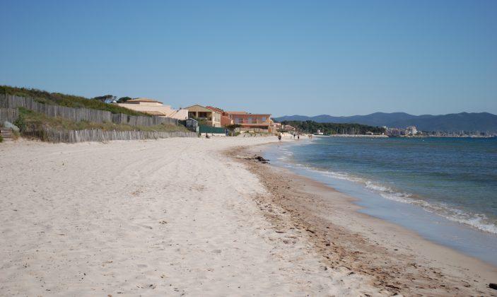 La plage de La Capte