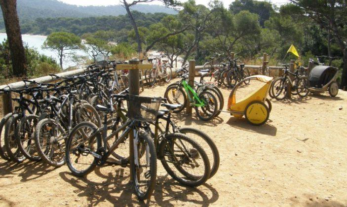 Location de vélos Porquerolles La Méduse Ile Parc National