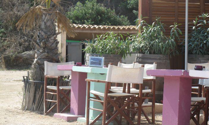 Restaurant Porquerolles La Plage Ile Vue mer