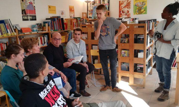 Débat avec Nicolas Pagnon auteur de «Désir assassin» son premier roman Ed Les Presses du Midi»