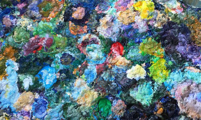 Artiste peintre galerie exposition île de Porquerolles Parc national