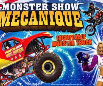 Spectacle Monster Trucks à Hyères