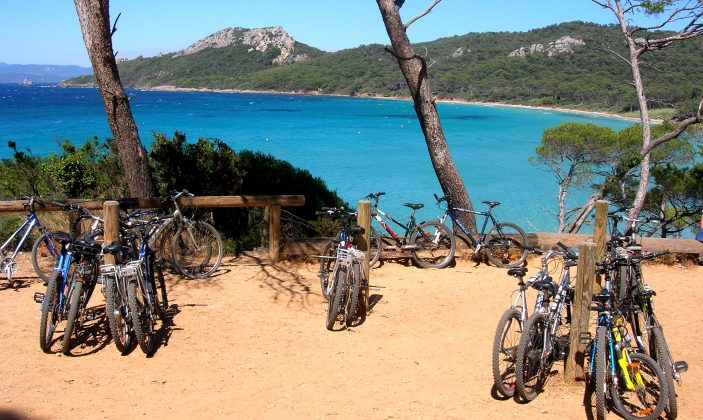 Location de vélos Porquerolles Le Cycle Porquerollais