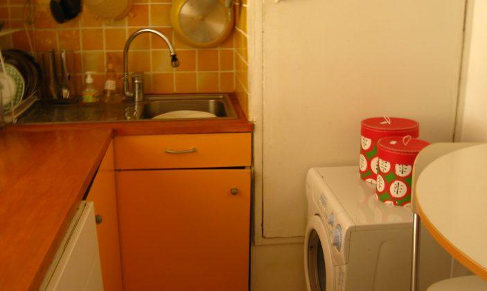 cuisine evier et machine à laver