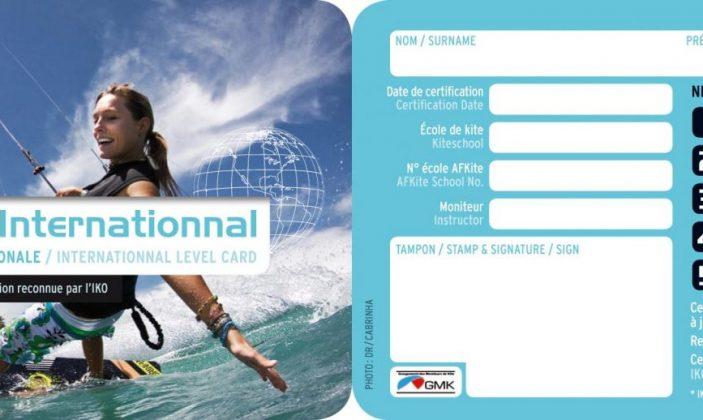 Certification Kite Pass aprés votre Stage