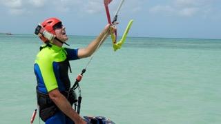 Kitesurf avec Casque+Radio apprentissage safe, facile, efficace