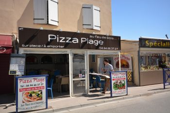 pizza plage pizzeria hyeres l'ayguade