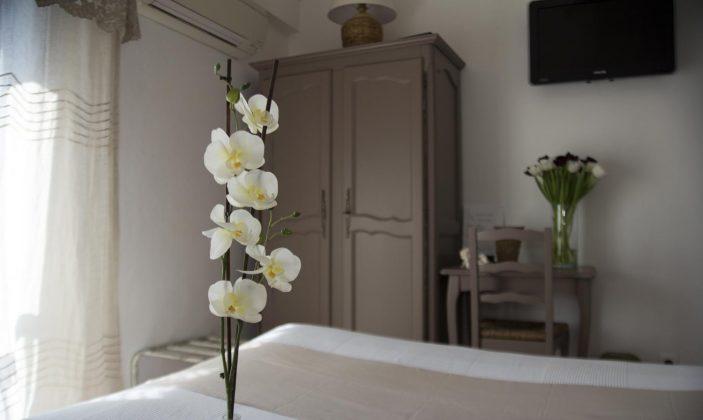 Chambre double supérieure avec terrasse