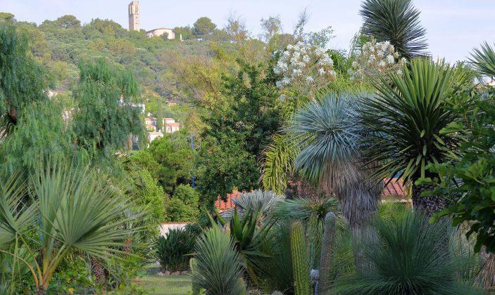 jardin avec vue sur Costebelle