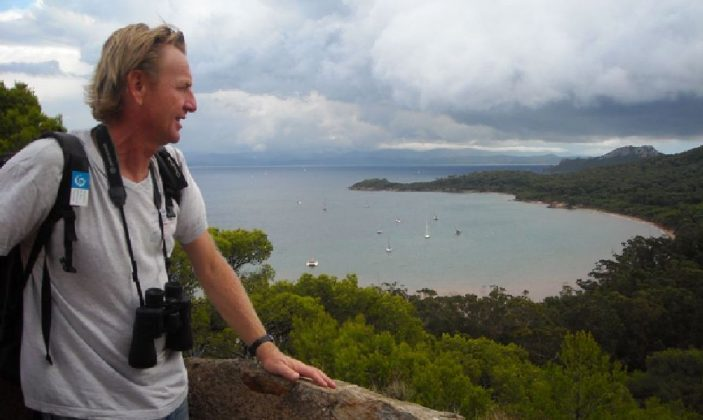 Vincent Blondel, guide Esprit Parc national