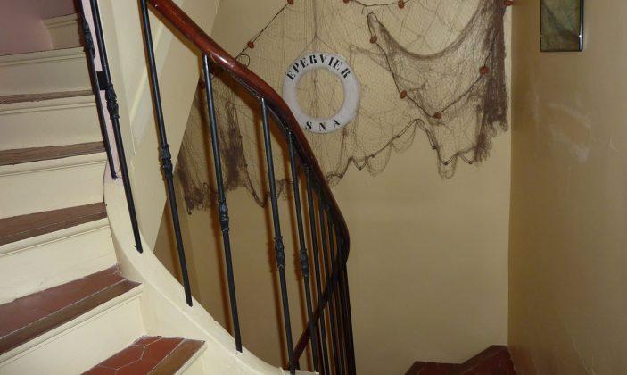 montée escalier provençale