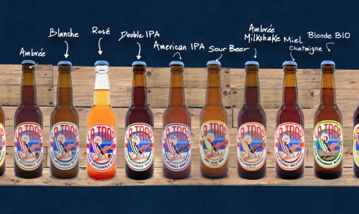 Bières artisanales de Provence LA TROP