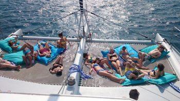 Sortie en mer catamaran