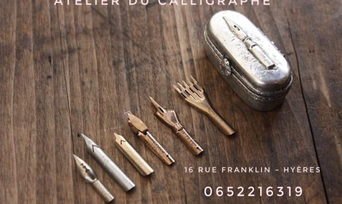Calligraphie Anne-Sophie Davoli Hyères