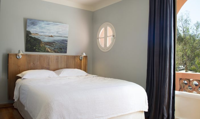Chambre double avec petit balcon