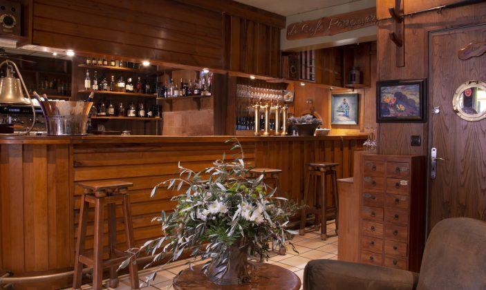 Le bar- Hôtel Le Porquerollais