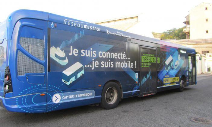 Transport Réseau Mistral > cap sur le numérique